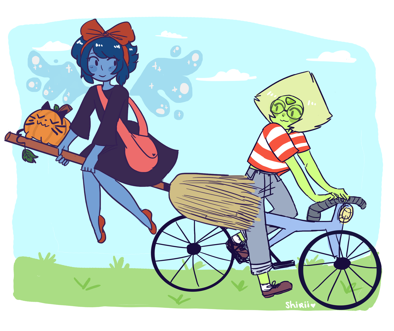 Lapis' delivery service!