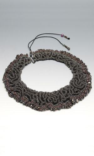 Linda Rettich - Brain Coral Collar