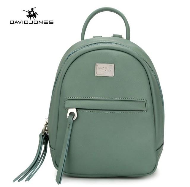 Best Price DAVIDJONES women shoulder bags faux leather female backpacks  small lady travel school bag girl brand softpack drop shipping 8180b327bd340