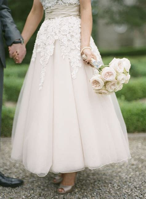Blush Champagne David Fielden Wedding Dress   wedding