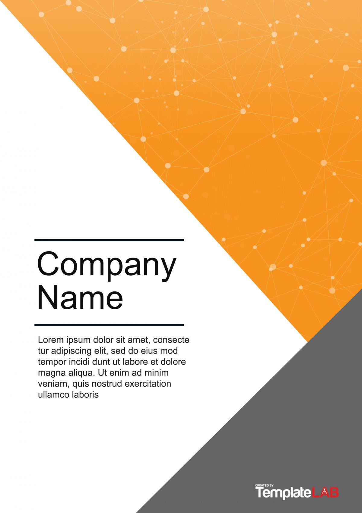 Interior Design Company Profile Template Word