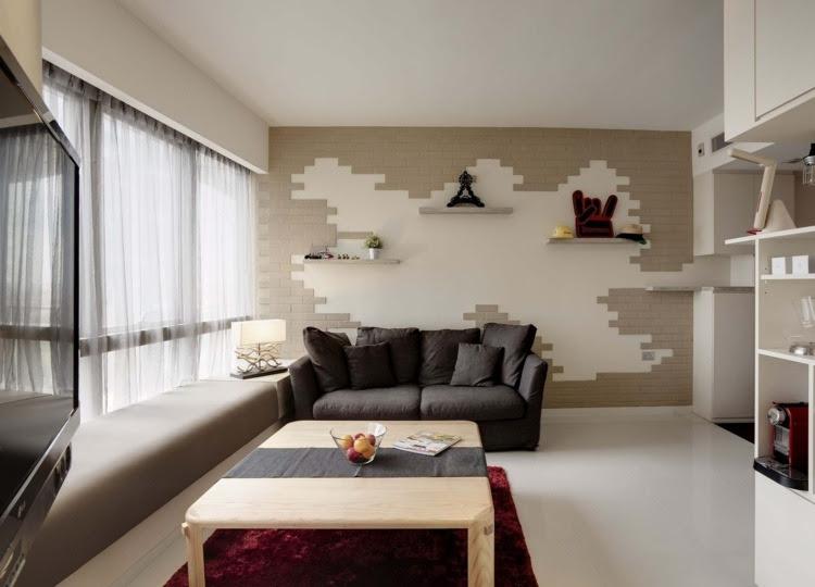 Wohnzimmer und Kamin : wohnung einrichten wohnzimmer grau