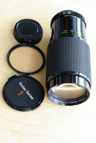 Vivitar Series 1 70-210mm f/3.5 from Tokina
