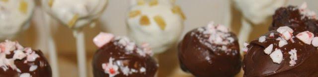Christmas cake pops recipe (Starbucks inspired: peppermint mocha and gingerbread latte flavored)