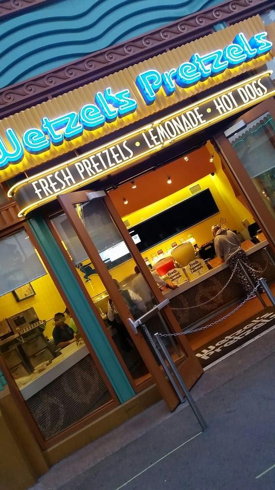 Wetzel's Pretzels - Anaheim, CA, United States. Outer shell