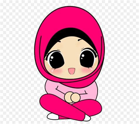 hijab cartoon drawing muslim islam muslim png