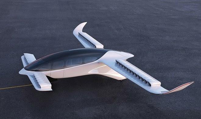 Семиместное воздушное такси Lilium больше всего напоминает летающий микроавтобус