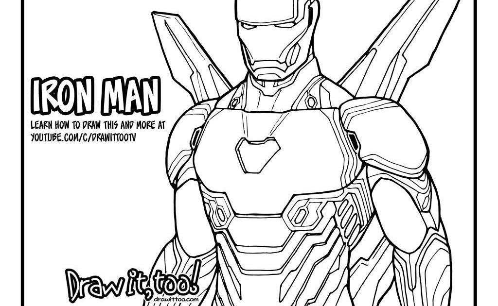 Avengers Infinity War Printable Coloring Pages ...