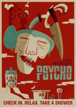 click to see more interpretations of classic horror movie posters