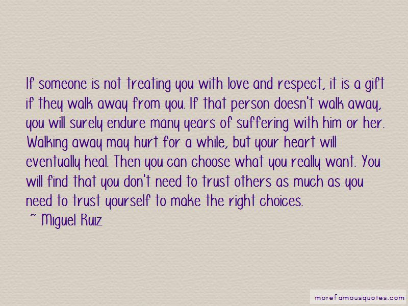 Quotes About Walking Away From Someone You Love Top 3 Walking Away