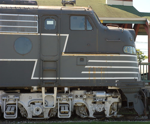 E8 Locomotive by RV Bob