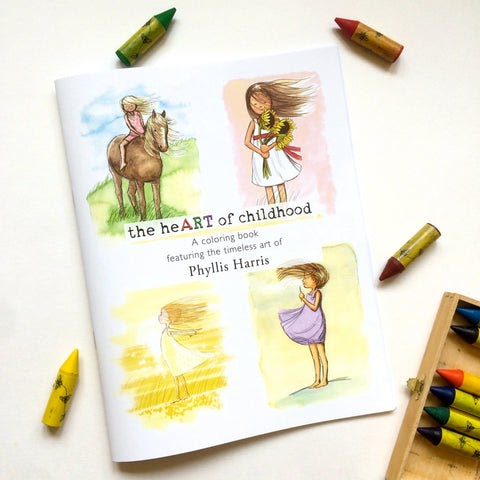 Phyllis Harris Illustration Coloring Isnt Just For Kids
