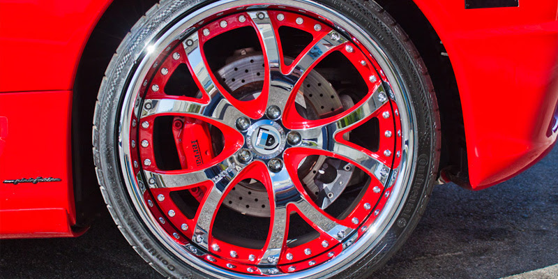 Ferrari California AF143 Gallery - Asanti Wheels