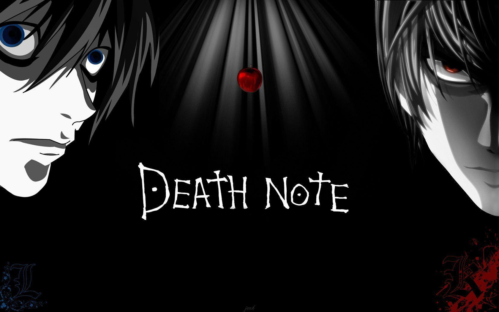 Death Note Backgrounds  Wallpaper Cave