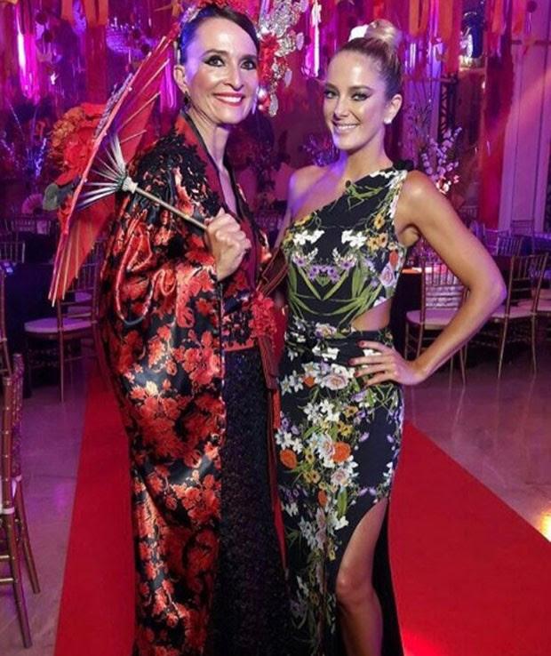 Andrea Natal, diretora-geral do Copacabana Palace, e Ticiane Pinheiro (Foto: Reprodução/Instagram)