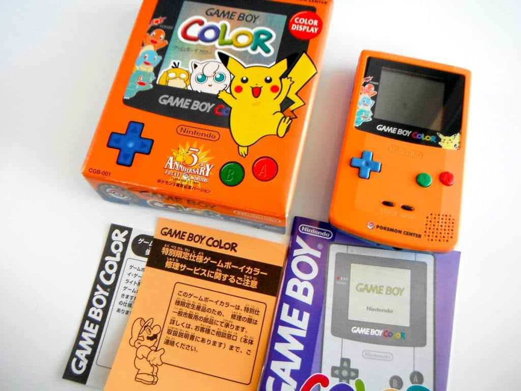 Japanese Gameboy Color Pokemon Edition Images  Pokemon Images
