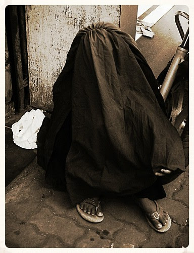 Headless Chicken In Pain ...Her Feet In Chains by firoze shakir photographerno1