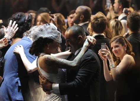 Weddings at the 2014 Grammy Awards   POPSUGAR Celebrity