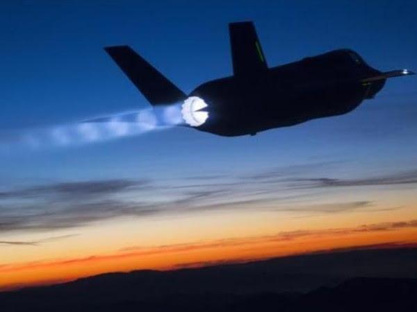 F-35 sunset