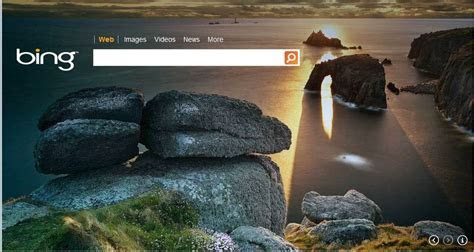 Bing Provides Awesome Background Images To Your Google