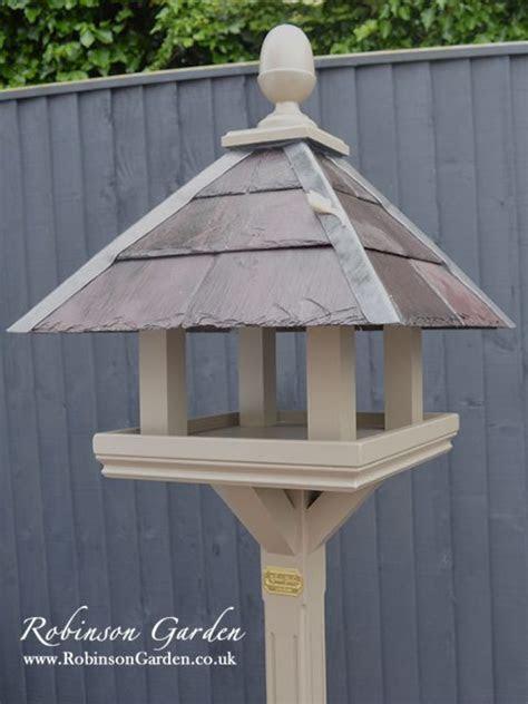Bespoke wooden Birdtables   Robinson Garden