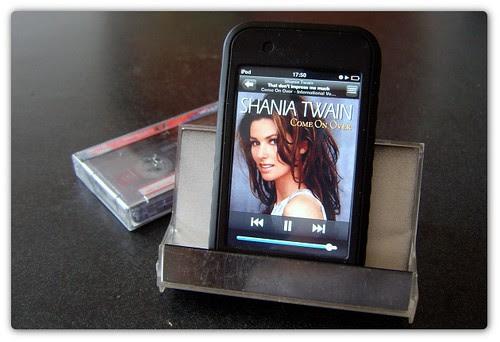 Base para ipod de cassette