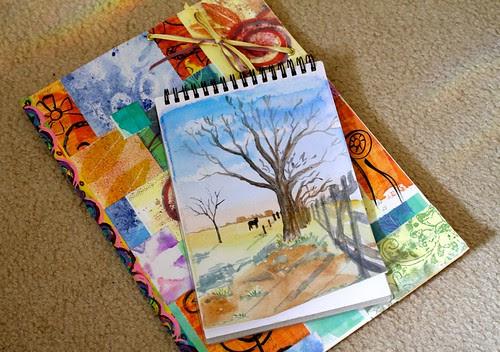 Watercolour course - week 3