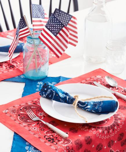 Easy Red White And Blue Decorating Ideas Midwest Living