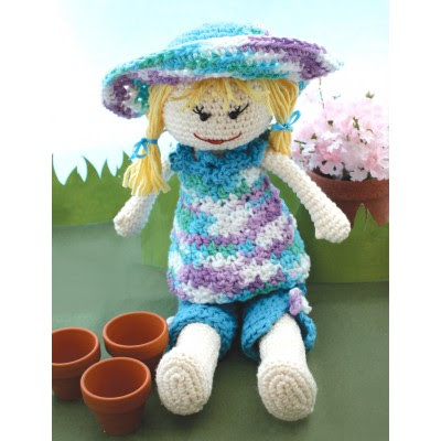 Garden Lily Doll