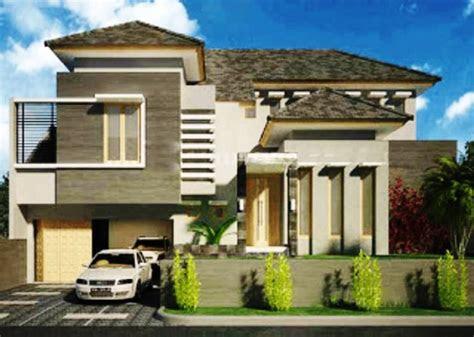desain rumah modern 2 lantai - desain rumah