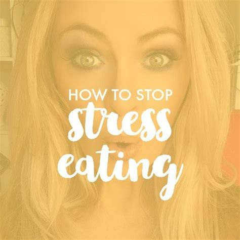 tips  stop stress eating kylie pax australias
