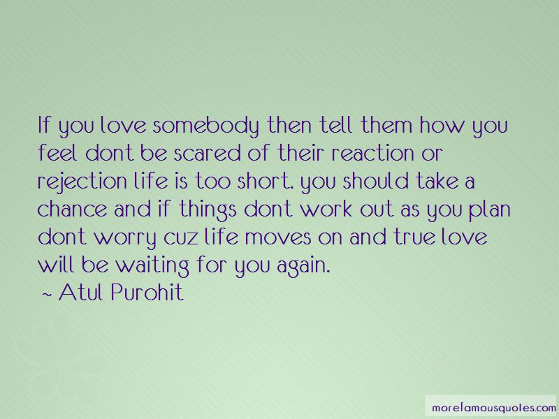 Dont Be Scared Love Quotes Top 2 Quotes About Dont Be Scared Love