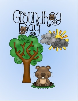 Ground Hog Day Matching Activity