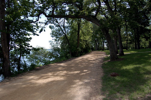 Lake path walk