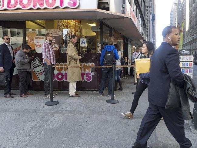 Dunkin Donuts, nyc