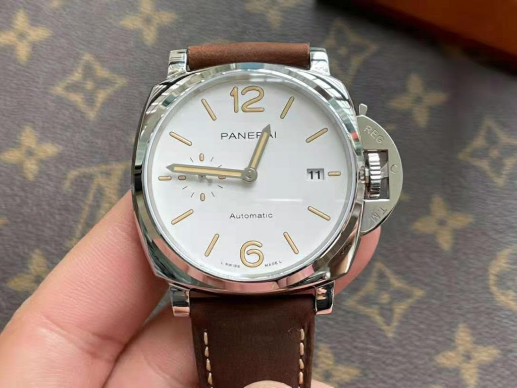 PAM 1046 White Dial