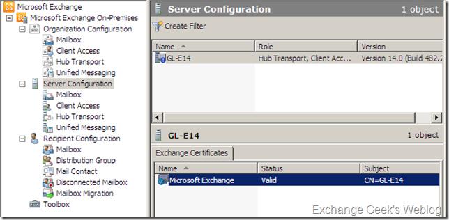EXBlog: Home Downloads Exchange 2010 EMC and Certificates