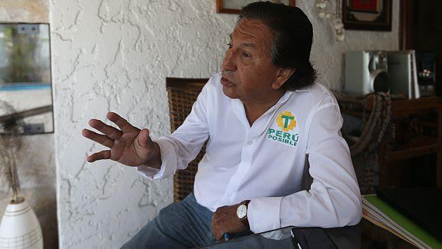 Alejandro Toledo será incluido al programa de recompensas sino se presenta en las próximas horas. (USI)