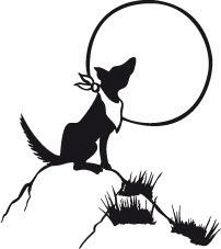 Lobo Aullando A La Luna Arte Amino Amino