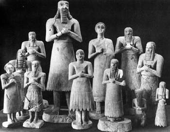 statuete de la Tell-Asmar