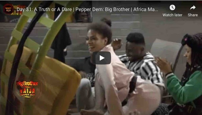 #BBNaija 2019 - Checkout All The Wild Dares From The Big Brother House Last Night
