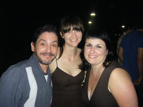 cutter, me and stephanie