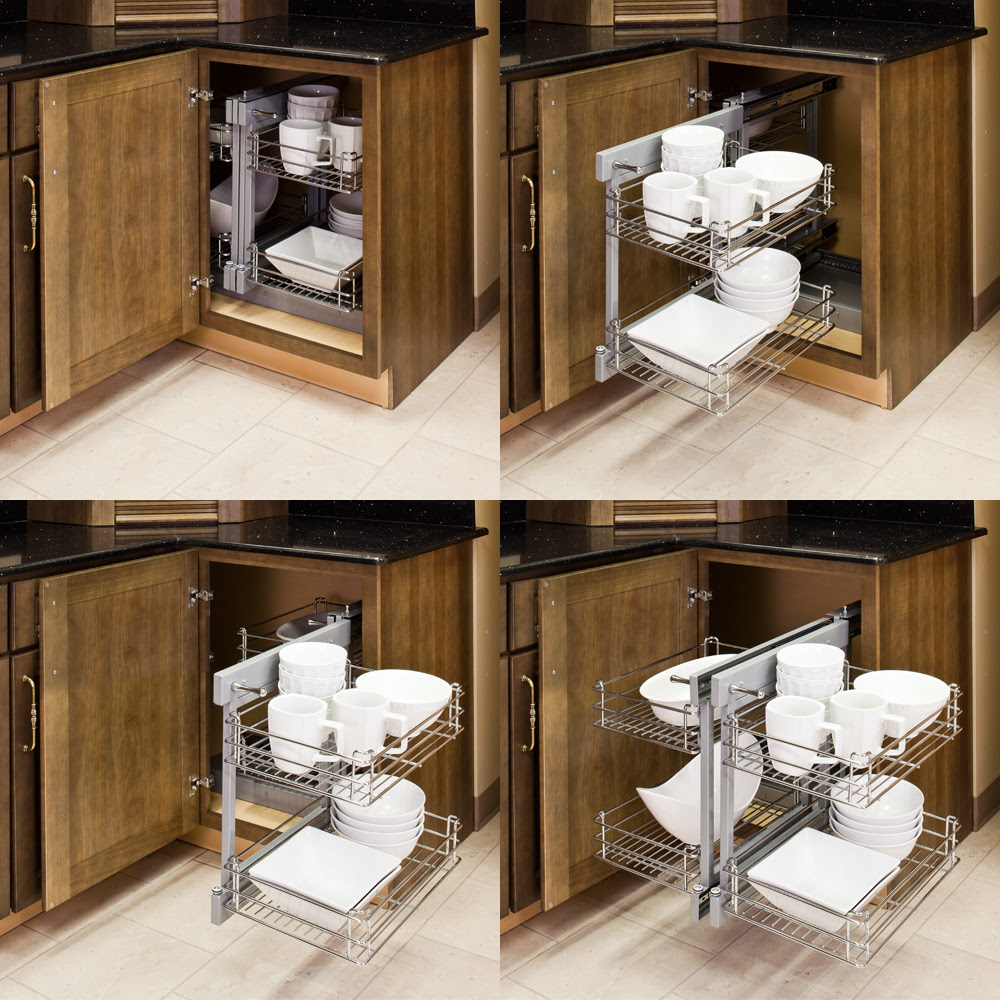 Blind Corner Pullout Solution CS-SHM - All Cabinet Parts