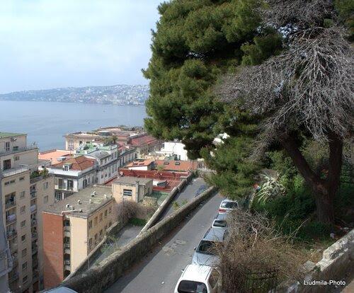 Район Санта Лучия в Неаполе