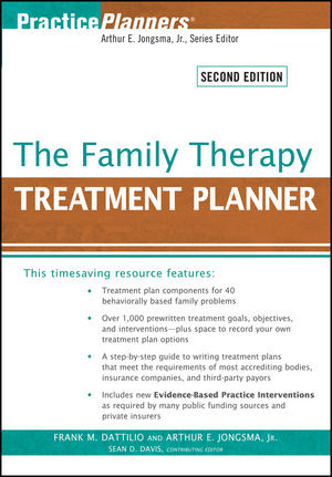Wiley: The Family Therapy Treatment Planner, 2nd Edition ...