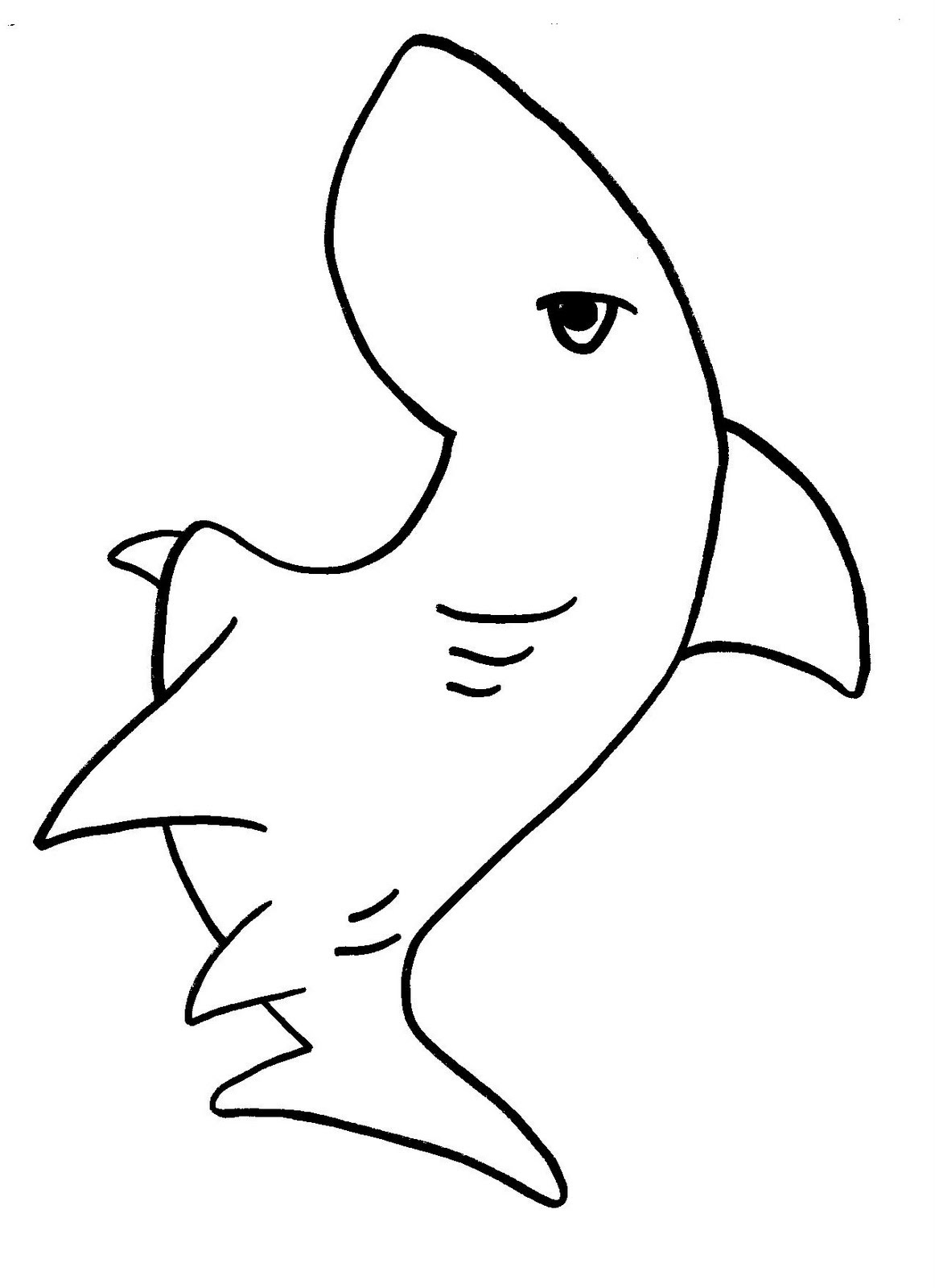 Shark Coloring Pages   Clipart Panda - Free Clipart Images