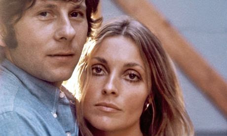 Roman Polanski and Sharon Tate in 1969, the year she was killed at her LA home by members of Charles