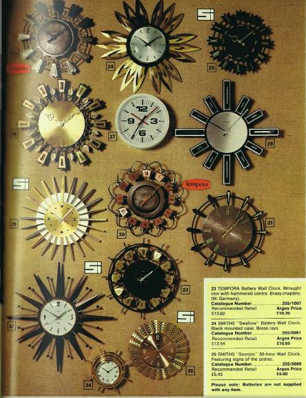 1973 clocks