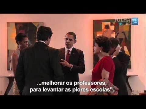 Bastidores: Obama no Brasil