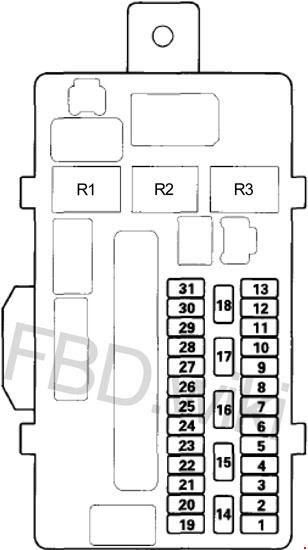 08 12 Honda Accord Fuse Box Diagram